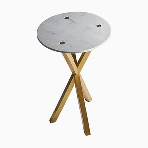 Marble Phasme Side Table by Mydriaz