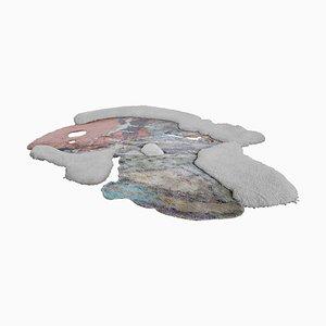 Tappeto ATOM4320 annodato a mano di Laroque Studio