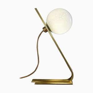 Italienische Daphne Messing Tischlampe von Cristina Celestino
