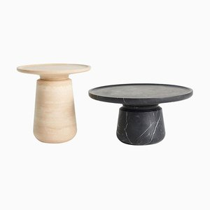 Marble Altana Side Table by Ivan Colominas, Set of 2