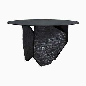 Marble Slate Dining Table by Frederic Saulou