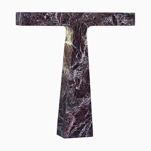 Lampada da tavolo Bruchi in marmo di Niko Koronis