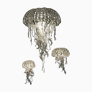 Crystal Medusas by Geraldine Gonzalez, Set of 3