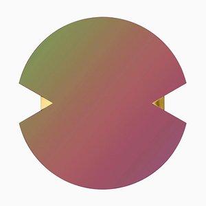 Specchio rotondo arcobaleno