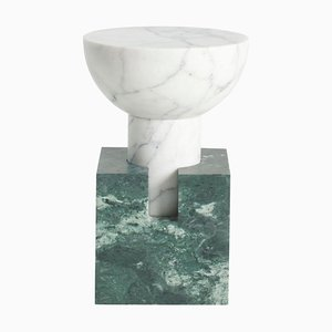 Tavolino Block verde di Anna Karlin
