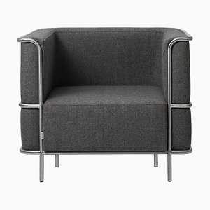 Grey Lounge Chair from Kristina Dam Studio