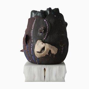 Vaso Neres di Lava Studio Ceramics