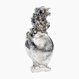 Mushroom Vase aus Zinn von Kajsa Willner