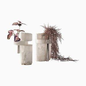 Vases Selen par Ctrlzak, Set de 2