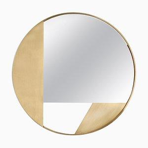 Specchio piccolo in ottone di Edizione Limitata