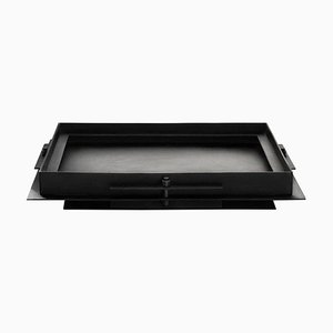 Pilier Steel Tray by Sizar Alexis