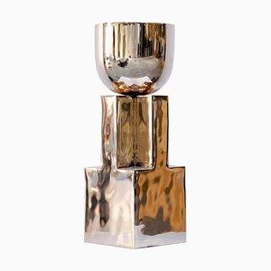 Cuenco en forma de cáliz de bronce de Arno Declercq