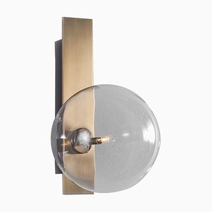 Brass Wall Sconce from Schwung