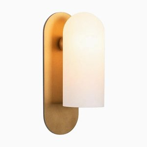 Brass Medium Sconce from Schwung