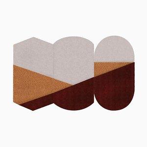 Oci Triptych Teppich von Seraina Lareida