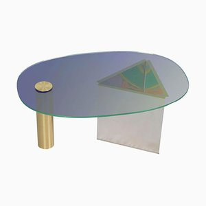 Table Basse Ettore Bleue par Asa Jungnelius