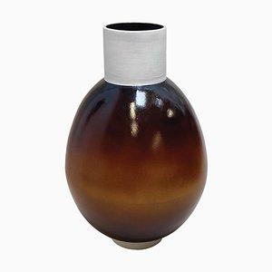 Ott Un altro paradigmatico vaso fatto a mano in ceramica di Studio Yoon Seok-Hyeon