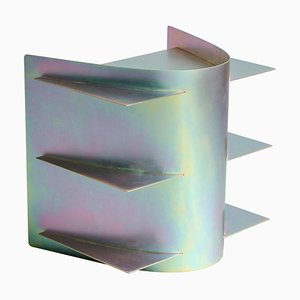 Mesa auxiliar tension iridiscente de Paul Coenen