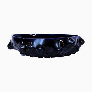 Bumps 2.0 Kobaltblaues Gefäß von Arkadiusz Szwed