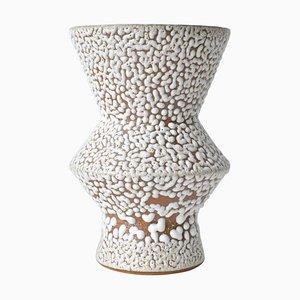 White Stoneware Vase from Moïo Studio