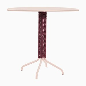 Purple Cielo Bistro Table by Sebastian Herkner