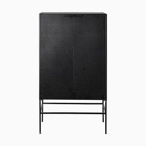Mueble Grid en negro de Kristina Dam Studio