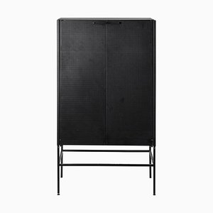 Schrank mit schwarzem Gitter von Kristina Dam Studio