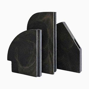 Composizione Copenhagen di 3 pezzi unici di Bertrand Fompeyrine
