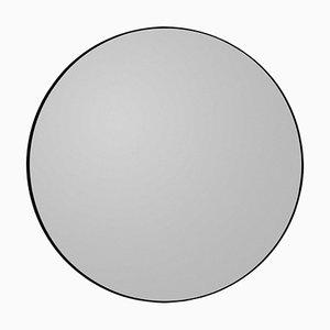 Espejo Circum en negro redondo 110