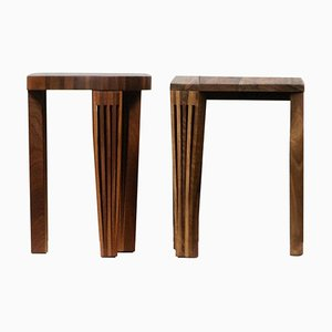 Redemption Stools from Albert Potgieter Designs, Set of 2