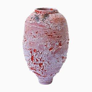 Roter Pithos aus Steingut von Arina Antonova