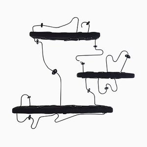 Mensole morbide nere di Manon Ritaly