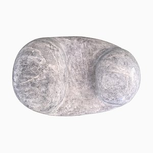 Scultura in marmo Naxian in marmo di Tom Von Kaenel