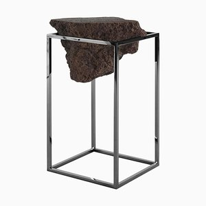 Black Antivol Tall Side Table by Ctrlzak