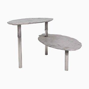 Aluminium Concretion Couchtisch von Studio Julien Manaira