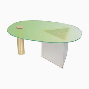 Ettore Green Coffee Table by Åsa Jungnelius