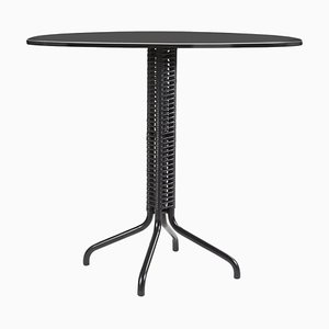 Black Cielo Bistro Table by Sebastian Herkner