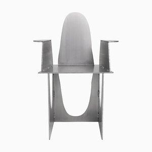 Aluminium Rational Jigsaw Stuhl von Studio Julien Manaira