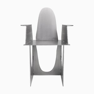 Aluminum Rational Jigsaw Chair by Studio Julien Manaira