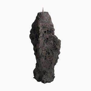 Geo Primitive Kerzenständer aus Keramik & Messing von Niclas Wolf