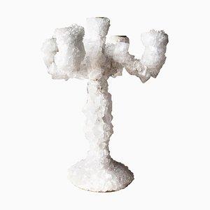 Überwachter Kerzenständer aus Kristallglas von Mark Sturkenboom