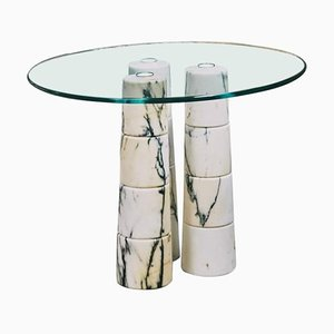 Tavolino da caffè in marmo di Samuele Brianza
