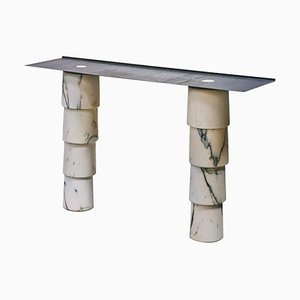 Marble Console by Samuel Brianza