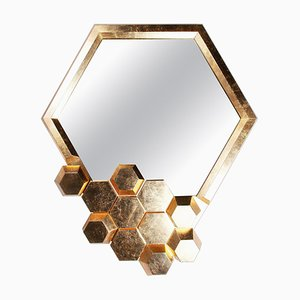 Honeycomb Limited Edition Wall Mirror by Royal Stranger