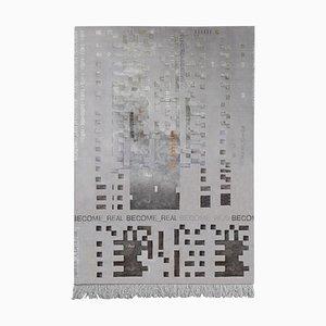 00.03 Tappeto annodato a mano di Laroque Studio