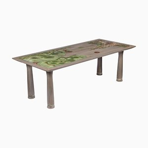 Nature Dining Table Sculpted by Francesco Perini