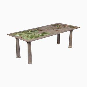 Tavolo da pranzo Nature scolpito da Francesco Perini