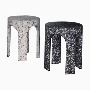 Side Tables by Loggia Terrazzo, Set of 2