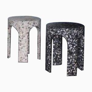 Tavolini di Loggia Terrazzo, set di 2