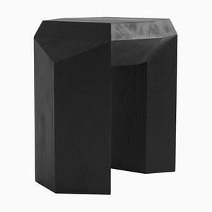 Burned Ode Side Table by Sizar Alexis